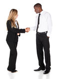 Multiracial business people Stock Photo