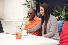 Multiracial business people Stock Image