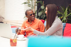 Multiracial business people Royalty Free Stock Photo