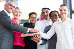Multiracial business team Royalty Free Stock Image