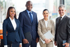 Multiracial business team royalty free stock photography