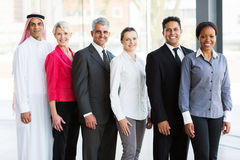 Multiracial business team Royalty Free Stock Images