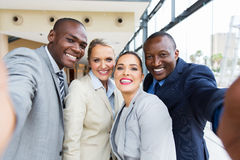 Multiracial business team Stock Image
