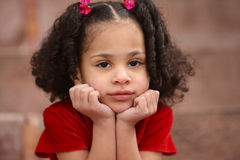 Multiracial Child Royalty Free Stock Photo