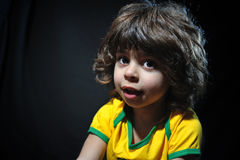Multiracial child Stock Images