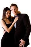 Multiracial couple royalty free stock photos