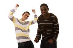 Multiracial friends Stock Photos