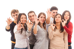 Multiracial Group Royalty Free Stock Photography