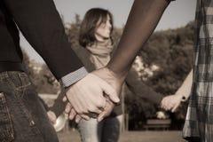 Multiracial Hands Stock Image