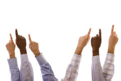 Multiracial hands Royalty Free Stock Photo