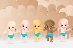Multiracial Kids Royalty Free Stock Images