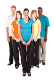 Multiracial people isolated Royalty Free Stock Image