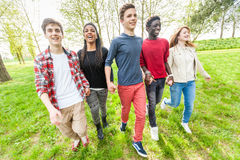 Multiracial Teenagers Royalty Free Stock Image