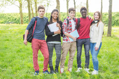Multiracial Teenagers Royalty Free Stock Photography