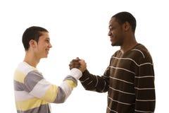 multiracial vänner Arkivfoton
