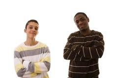 multiracial vänner Fotografering för Bildbyråer