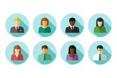 Multiraciale bedrijfsmensen royalty-vrije illustratie