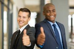 Multiraciale bedrijfsmensen Royalty-vrije Stock Fotografie