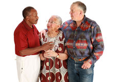 Multiraciale vrienden Stock Fotografie