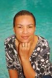 Multiraciale vrouw stock foto's