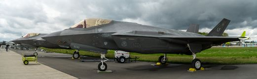 Multirole Blitz II Lockheed Martins F-35 Kämpfer der Heimlichkeit Lizenzfreie Stockfotos