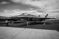 Multirole Blitz II Lockheed Martins F-35 Kämpfer der Heimlichkeit US-Luftwaffe Stockbild