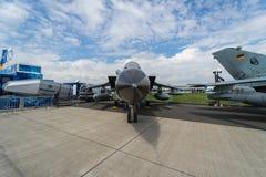 Multirole för Panavia för slagflygplan ECR tromb Tyskt flygvapen Arkivbilder