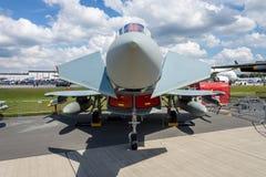 Multirole fighter Eurofighter Typhoon. Stock Photos