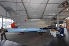 Multirole wojownik Eurofighter Typhoon Zdjęcie Stock