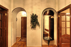 multiroom квартиры обитаемое в изображением Стоковые Изображения RF