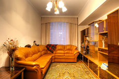 multiroom квартиры обитаемое в изображением Стоковое фото RF