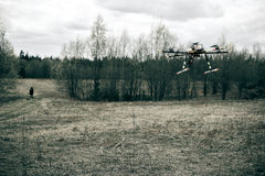 Multirotor helicopter Stock Photo