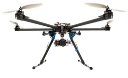 Multirotor system with camera Stock Photos