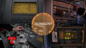 Multiscreen Распределение электрической энергии Силовой кабель соединенный к цепи Anamation Цифровой дисплей сток-видео