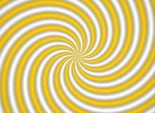 Multispiral amarillo Imagenes de archivo