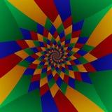 MultiSpiral1 Ilustração Royalty Free
