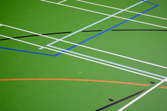 MultiSports Court Royalty Free Stock Images
