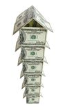 Multistoried dollar house 2 Stock Photo