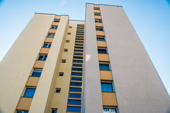 Multistory apartment Royalty Free Stock Images