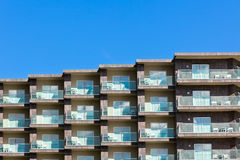 Multistory apartments house Royalty Free Stock Photography