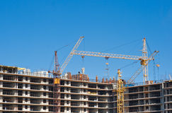 Multistory building construction Stock Images