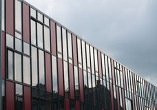 Multistory building. Photo of a modern multistory building facade Stock Images
