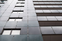 Multistory building. Photo of a modern multistory building facade Royalty Free Stock Image