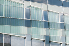 Multistory building. Photo of a modern multistory building facade Stock Image