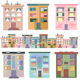 Multistory buildings Royalty Free Stock Photo