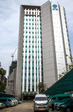 Multistory modern building of Krungthai Bank Stock Photography