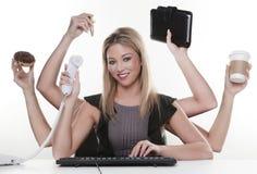 multitask Zdjęcie Stock