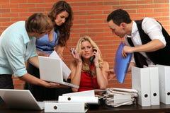 Multitasking Lizenzfreies Stockbild