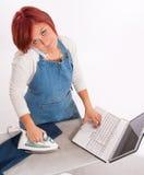 multitasking Obrazy Royalty Free