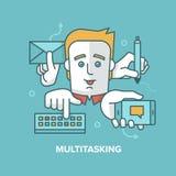 multitasking απεικόνιση αποθεμάτων